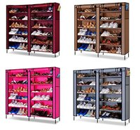 Fancy Double Shoe Rack Organizer Mu 6 Layer