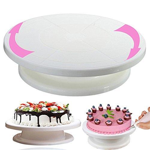 Plastic Cake Decorating Turntable