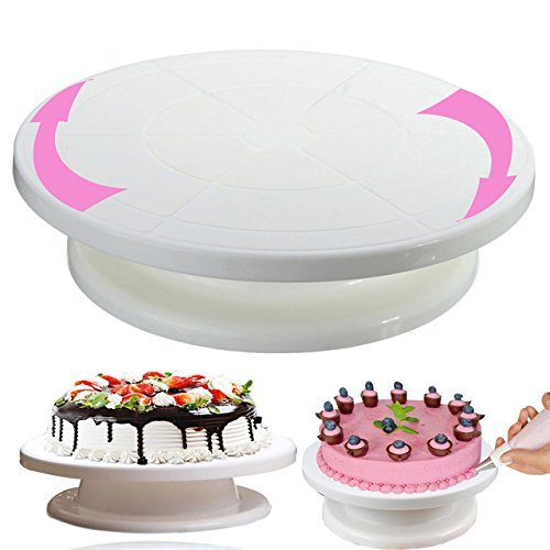 Plastic Cake Decorating Turntable