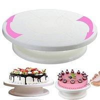 Plastic Cake Decorating Turntabl