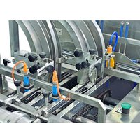 Double lane 3+2 Sandwiching Machine With Packaging Machine