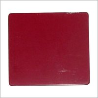 Bright Red Aluminium Composite Panel