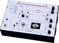 Training Board for the study of Power Supply (Solid-state)