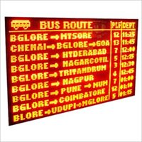 Information LED Display Boards
