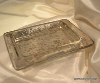 GLASS PLATES & TRAYS, GLASS SAUCERS DINNER PLATES , CHARGING PLATE