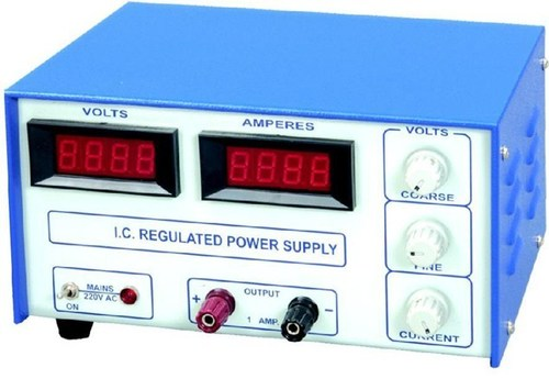 Digital Regulated Power Supply With 2 DPM ( 3½ digit)
