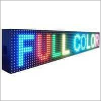 Single Line LED Display Board