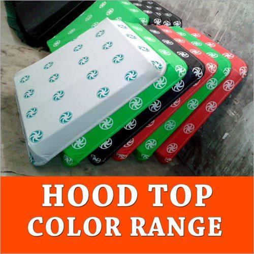 Hood Top Color Range