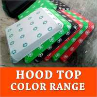 Hood Top Color Range