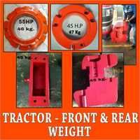 Tractor-Front & Rear Weight