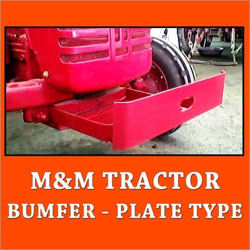 M & M Tractor Bumfer-Plate Type