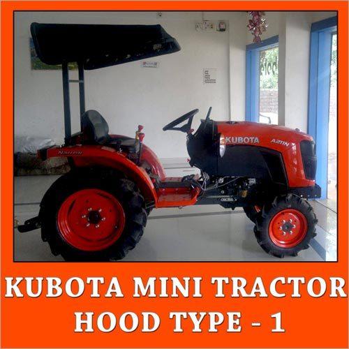 Kubota Mini Tractor Hood Type 1