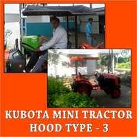 Kubota Mini Tractor Hood Type-3