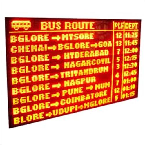 Airport Data LED Display Board