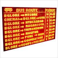 Transport Management LED Display