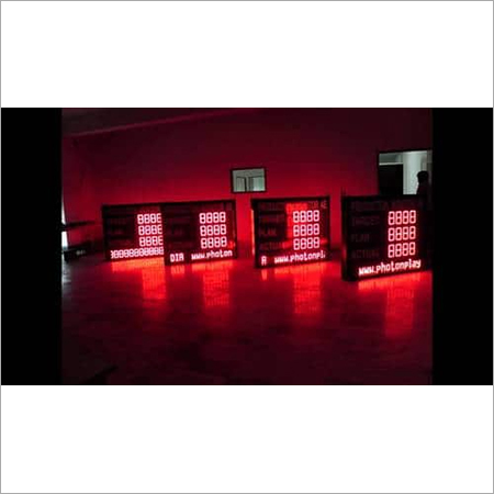 LED Data Display Board