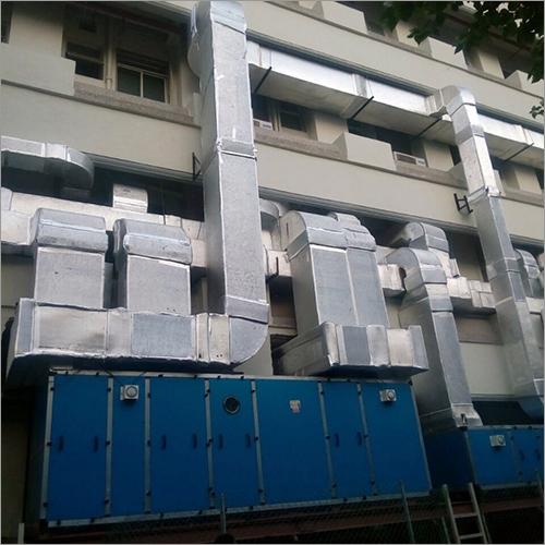 Pharmacitecual N  Hospital Ahu Ductting Work