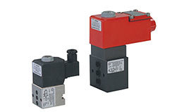 3/2 Direct Acting NC/ NO Subbase Mounted Solenoid Valve