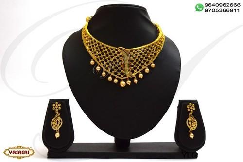 Cz choker necklace