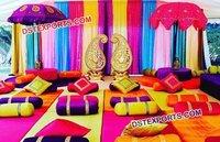 Modern Mehandi Night Sangeet Stage