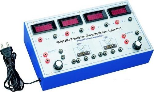 PNP & NPN Transistor Characteristics App.