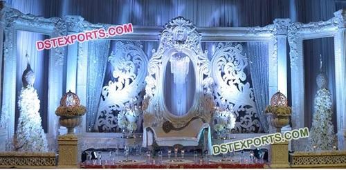 Reception Wedding Stage Set