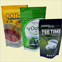 Tea Stand Up Pouches