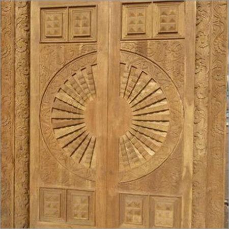Front wooden Door