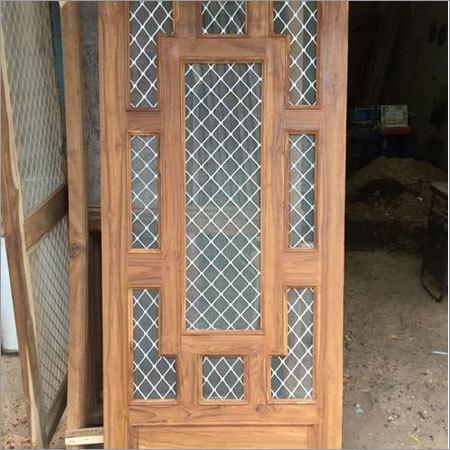 Jali Wooden Door Original Sagwan