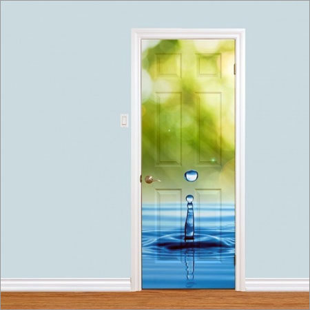 Lamination Digital Door