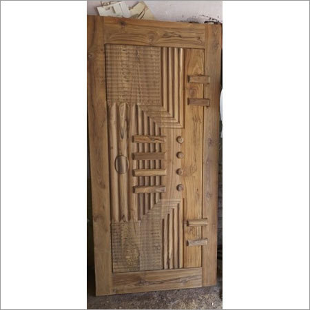 3d Carving Sagwan Door