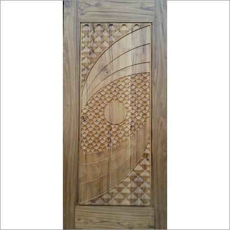 3d Solid Sagwan Door