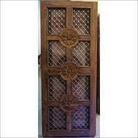 Original Sagwan Wood Jali Door