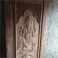 Original Sagwan wood carving door