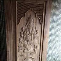 Original Sagwan Wood Carving Door