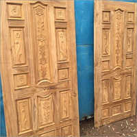 Original Sagwan Wood Door