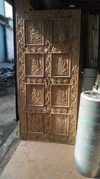 Wood 3D Door