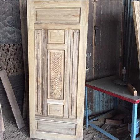 Real Wood Sagwan Door