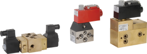 5/2 Pilot Operated, Single/Double Solenoid, Subbase Mounted Solenoid Valve
