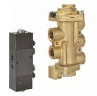 5/2 Air Operated, Spring/ Air Return Valve