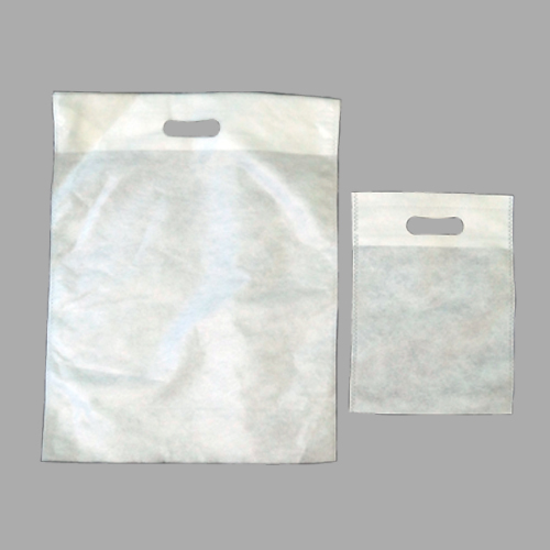 Lower GSM White D Cut Bags
