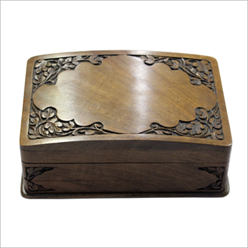 Decorative Wooden Carved Box
