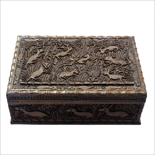 Wooden Carved Box