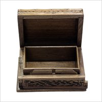 Designer Wooden Carved Box