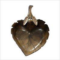 Designer Wooden Carved Fruit Bowl