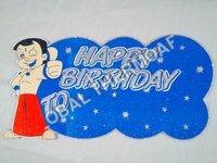 Birthday Thermocol Card