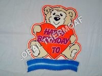 Thermocol Birthday Teddy