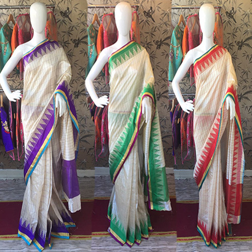 Rich Chex Cotton Silk Saree