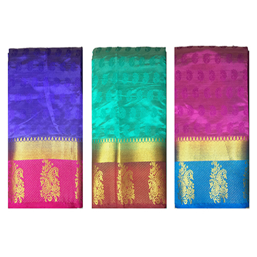 Party Wear Semi Silk Saree