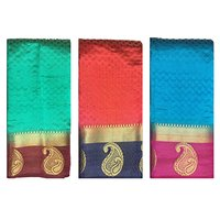 Self Design Paithani Silk Saree